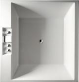 Quadratische Badewanne rechteckwannen 175 185cm