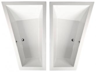 raumsparbadewanne tyra 180 x 120 x 50 cm links rechts acryl 120 x 180 gro e trapezbadewanne. Black Bedroom Furniture Sets. Home Design Ideas