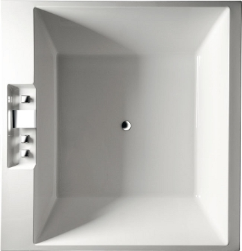 quadratische badewanne carmen 175 x 175 x 50 cm 720 liter. Black Bedroom Furniture Sets. Home Design Ideas