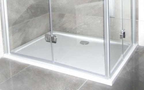 acryl rechteck duschwanne 128 180 x 80 x 4 cm. Black Bedroom Furniture Sets. Home Design Ideas