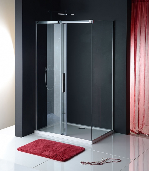 altis line seitenteil f r rechteckige dusche. Black Bedroom Furniture Sets. Home Design Ideas