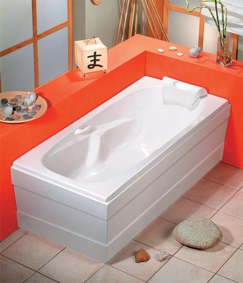 Badewanne 170 x 75 mit schrze innenr ume und m bel ideen - Badewanne nixe ...