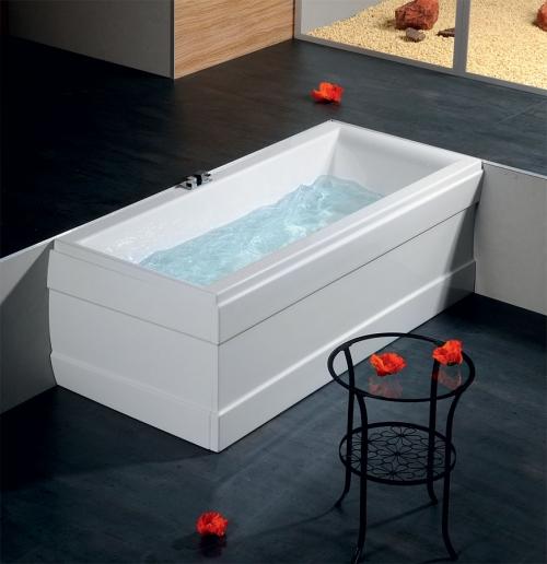 rechteck badewanne christina 180 x 90 x 48 cm acryl 90 x 180 geradlinig und bequem mit viel platz. Black Bedroom Furniture Sets. Home Design Ideas