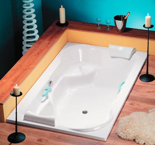 Grosse Badewanne rechteck badewanne diora 200 x 120 x 45 cm acryl 120 x 200 große