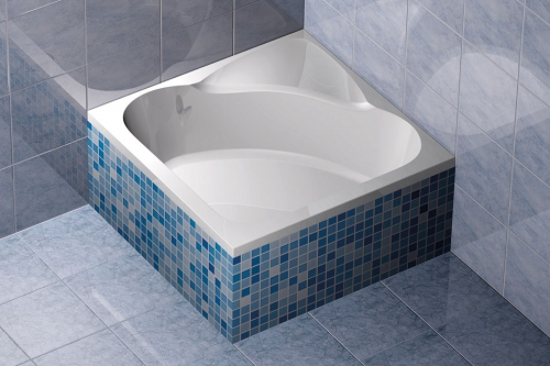 acryl rechteck duschwanne cara 90 x 90. Black Bedroom Furniture Sets. Home Design Ideas