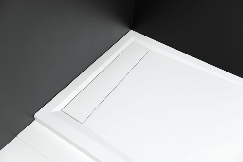mineralguss rechteck duschwanne vanessa 100 x 80. Black Bedroom Furniture Sets. Home Design Ideas
