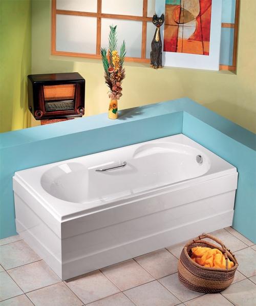 acryl rechteck badewanne sabrina 180 x 80. Black Bedroom Furniture Sets. Home Design Ideas