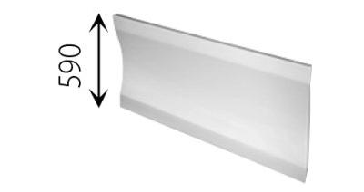 Acryl Rechteck Badewanne Lisanne 160 X 70
