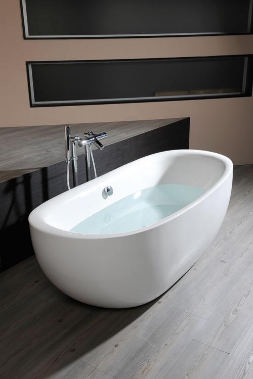 freistehende badewanne zasu 180 x 81 cm acryl. Black Bedroom Furniture Sets. Home Design Ideas